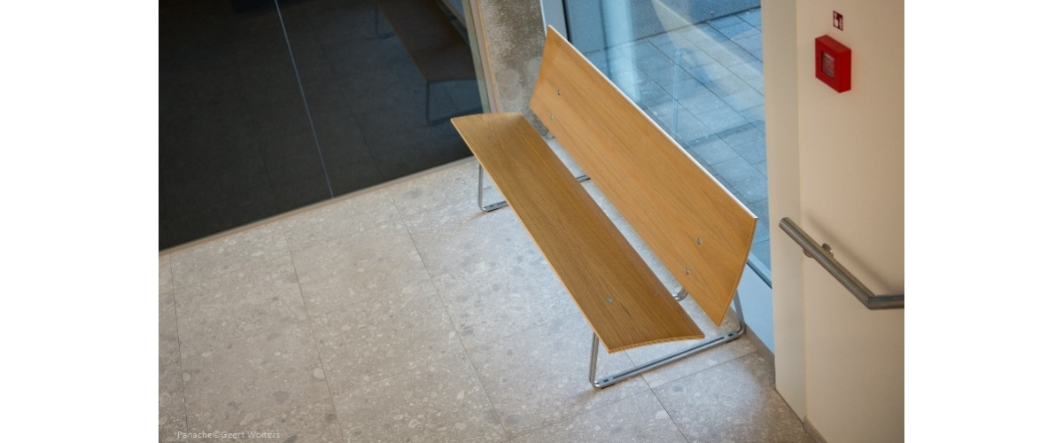 Amival Offices, Tunhout (Belgium). LASAI Bench.