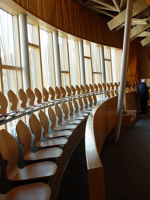 Schottisches Parlament, NEN Stuhl