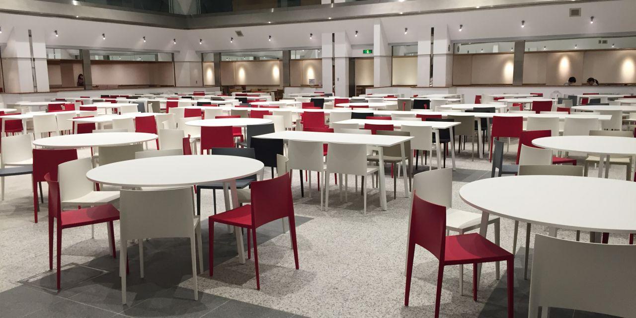 Kawasaki La Table FAST dans les salles de Senzoku Gakuen de Kawasaki