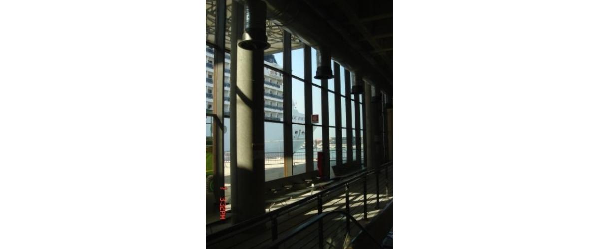 Terminal de bateaux de croisière, Venise (Italie) - Sellex