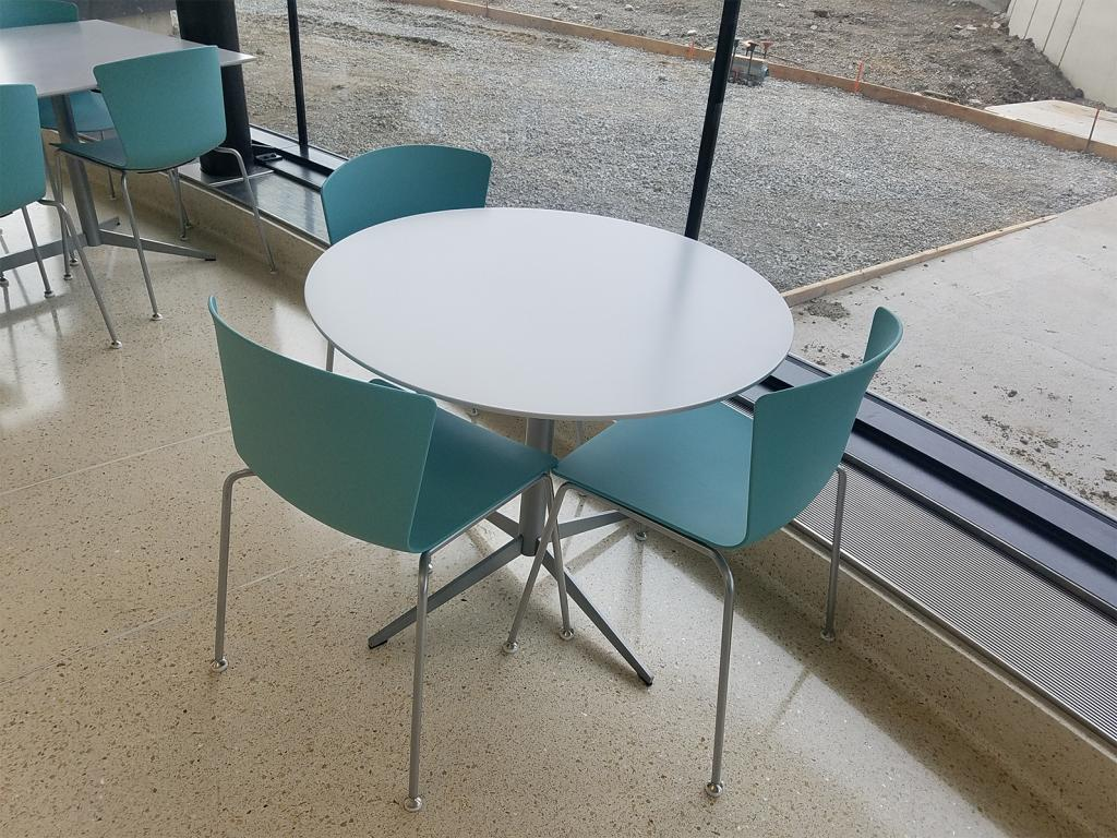 Children's Hospital Coffee Shop of the University of Iowa (USA). SLAM chair.
