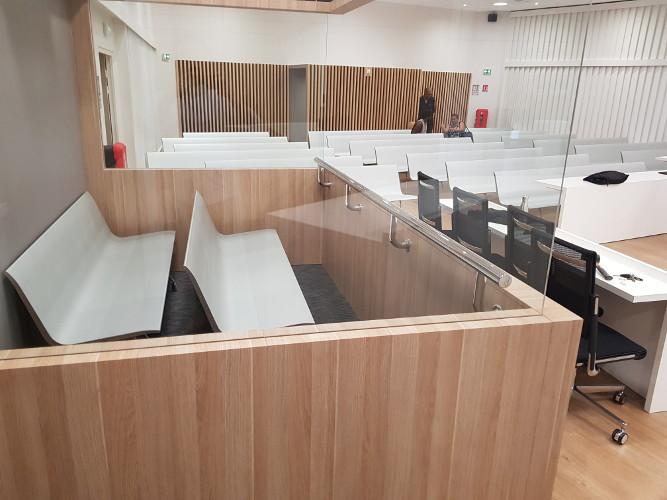 Banco AERO en Palacio de Justicia de Numea (Francia)